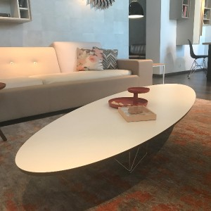 Stolik Vitra Eliptical Table Rod Base ETR